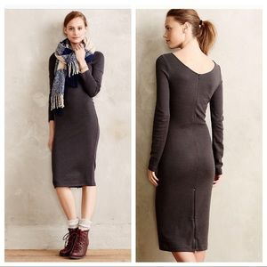 Sweaterknit pencil dress